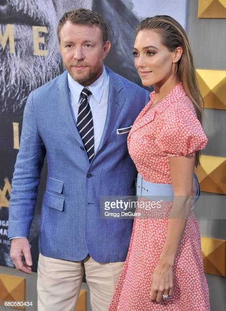 Guy Ritchie and Jacqui Ainsley arrive at the premiere of Warner Bros Pictures' 'King Arthur Legend Of The Sword' at TCL Chinese Theatre on May 8 2017...