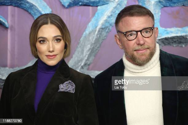 "Guy Ritchie and Jacqui Ainsley attend the ""Frozen 2"" European premiere at BFI Southbank on November 17, 2019 in London, England."
