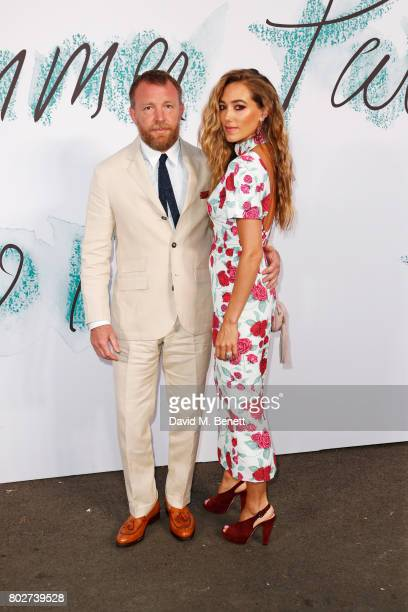 Guy Ritchie and Jacqui Ainsley attend The Serpentine Galleries Summer Party at The Serpentine Gallery on June 28 2017 in London England