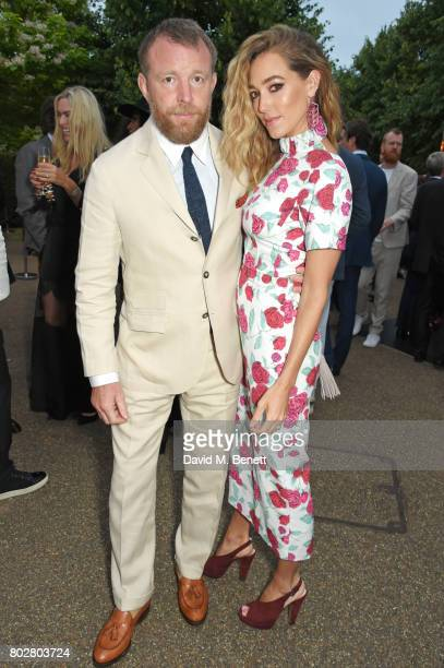 Guy Ritchie and Jacqui Ainsley attend The Serpentine Galleries Summer Party cohosted by Chanel at The Serpentine Gallery on June 28 2017 in London...