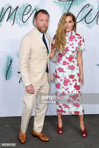 Guy Ritchie and Jacqui Ainsley attend The Serpentine Gallery Summer Party at The Serpentine Gallery on June 28 2017 in London England