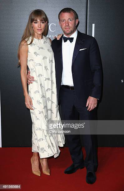 Guy Ritchie and Jacqui Ainsley attends the BFI Luminous Funraising Gala at The Guildhall on October 6 2015 in London England