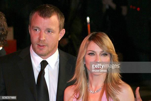 Guy Ritchie and Madonna during 2006 Vanity Fair Oscar Party at Morton's in West Hollywood California United States
