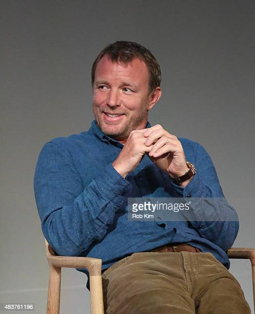 Guy Ritchie attends Meet the Filmmaker Guy Ritchie And Lionel Wigram 'The Man From UNCLE' at Apple Store Soho on August 12 2015 in New York City