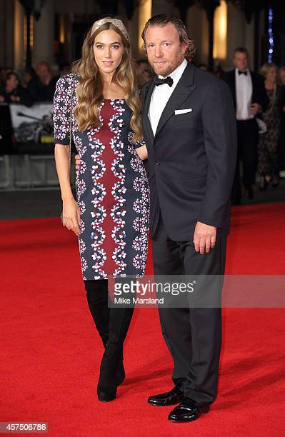 Guy Ritchie attends the closing night Gala screening of Fury during the 58th BFI London Film Festival at Odeon Leicester Square on October 19 2014 in...