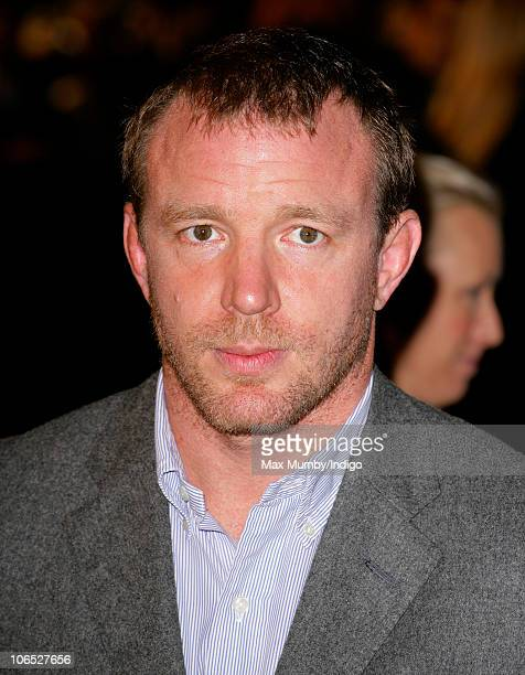 Guy Ritchie attends the 'Due Date' Premiere at The Empire Cinema Leicester Square on November 3 2010 in London England