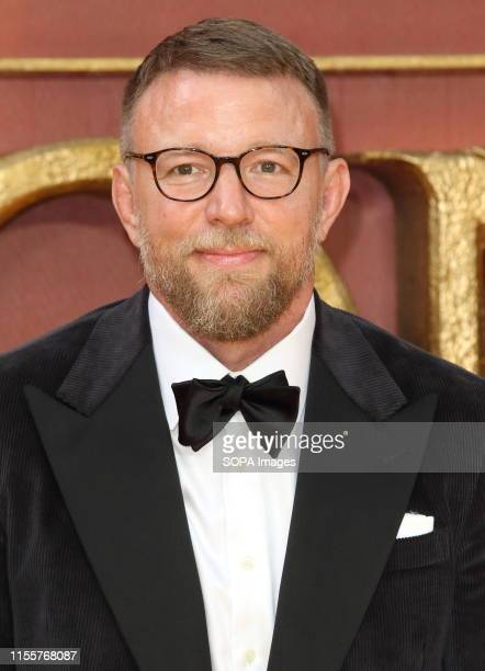 Guy Ritchie attends the European Premiere of Disney's The Lion King at the Odeon Luxe cinema Leicester Square in London