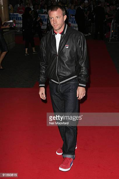 Guy Ritchie attends the UK Premiere of 'The Firm' at Vue West End on September 10 2009 in London England