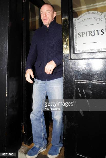 Guy Ritchie departs the Punch Bowl pub on November 3 2009 in London England