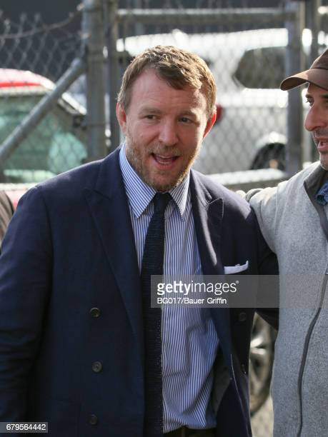 Guy Ritchie is seen at 'Jimmy Kimmel Live' on May 05 2017 in Los Angeles California
