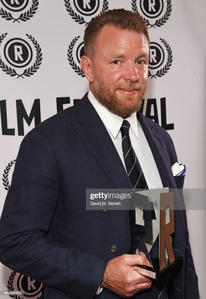 Guy Ritchie, winner of the Auteur award, attends the Raindance Film Festival anniversary drinks reception at The Mayfair Hotel on August 15, 2017 in London, England.