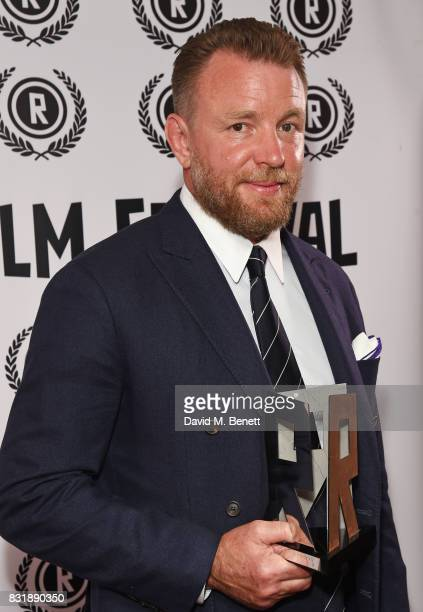 Guy Ritchie winner of the Auteur award attends the Raindance Film Festival anniversary drinks reception at The Mayfair Hotel on August 15 2017 in...