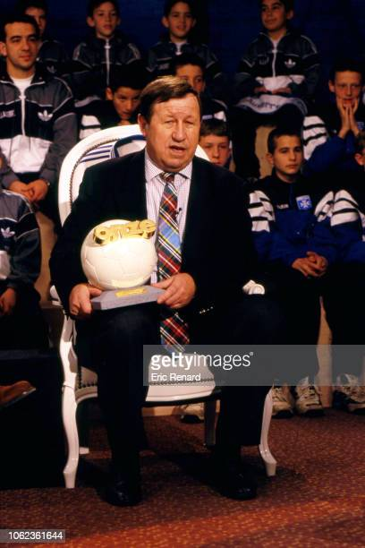 Guy Roux coach of Auxerre during the Onze d'Or ceremony on December 8 1996 in Paris