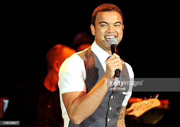 Guy Sabastian preforms during G'Day USA 2011 Black Tie Gala at Hollywood Palladium on January 22 2011 in Hollywood California
