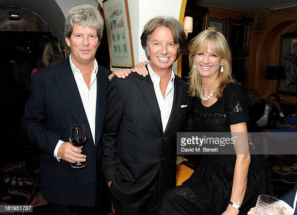 Guy Sangster Richard Caring and Fiona Sangster attend Annabel's 50th anniversary celebration featuring a performance by Jamie Cullum on September 26...