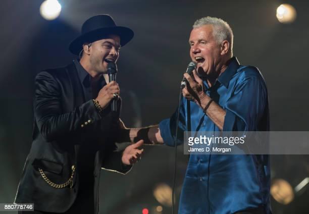 Guy Sebastian and Daryl Braithwaite during the 31st Annual ARIA Awards 2017 at The Star on November 28 2017 in Sydney Australia