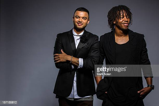 Guy Sebastian and Lupe Fiasco pose at the 26th Annual ARIA Awards 2012 at the on November 29 2012 in Sydney Australia