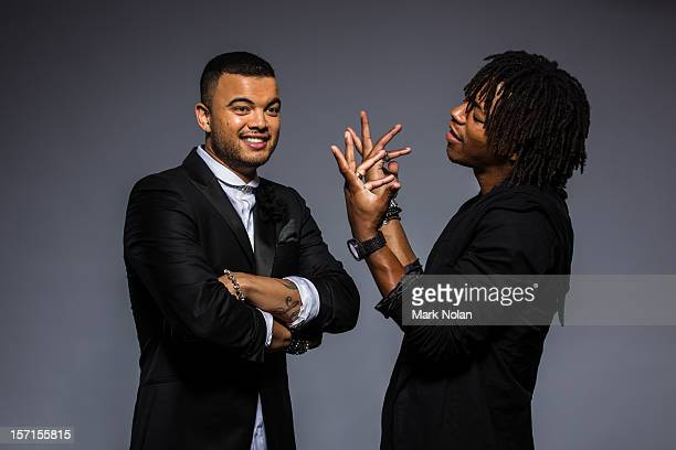 Guy Sebastian and Lupe Fiasco pose at the 26th Annual ARIA Awards 2012 at the on November 29, 2012 in Sydney, Australia.