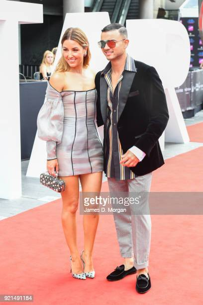 Guy Sebastian and Wife Jules Egan at the 31st Annual ARIA Awards 2017 at The Star on November 28 2017 in Sydney Australia