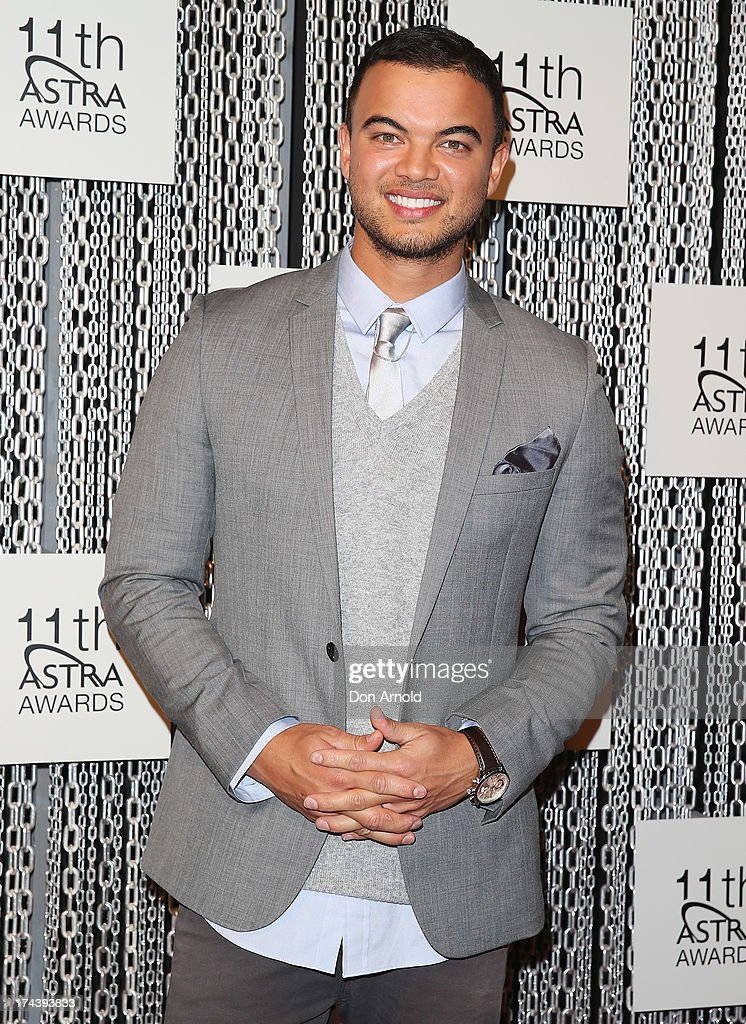 Guy Sebastian arrives at the 11th Annual ASTRA Awards at Sydney Theatre on July 25, 2013 in Sydney, Australia.