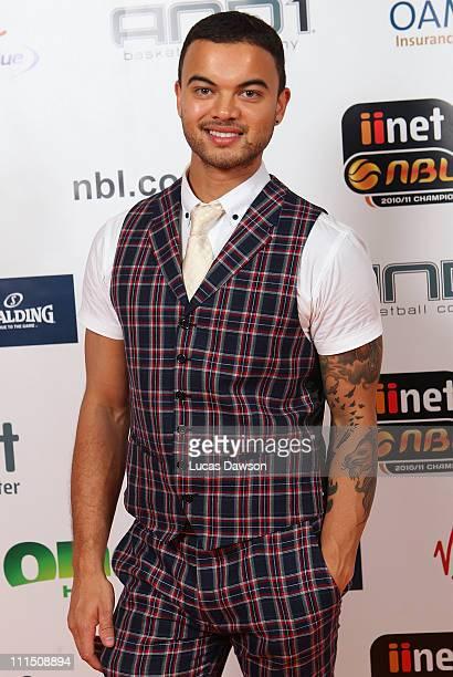 Guy Sebastian arrives at the 2011 NBL/WNBL Awards Night at Crown Palladium on April 4, 2011 in Melbourne,Australia.