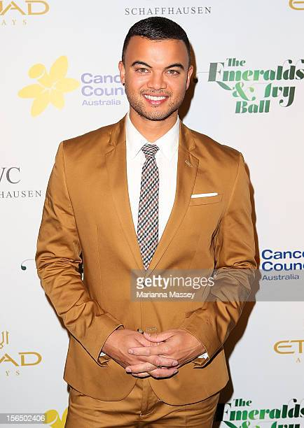 Guy Sebastian arrives at The Ivy on November 16, 2012 in Sydney, Australia for the Emerald and Ivy Ball.