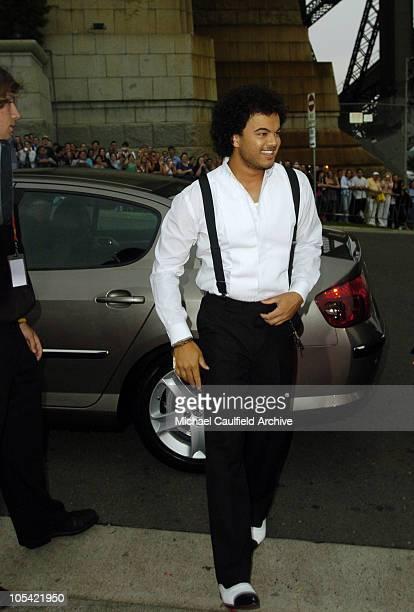Guy Sebastian during 2005 MTV Australia Video Music Awards - Red Carpet at Luna Park in Sydney, New South Wales, Australia.