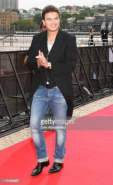 Guy Sebastian during ''Australian Idol'' Grand Final November 26 2006 at Sydney Opera House in Sydney NSW Australia