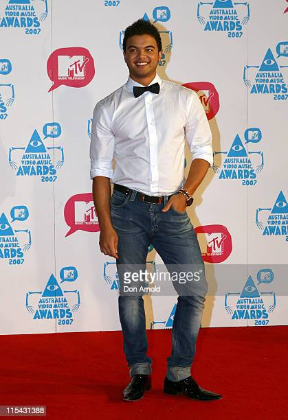 Guy Sebastian during MTV Australia Video Music Awards 2007 Arrivals at Superdome in Sydney NSW Australia