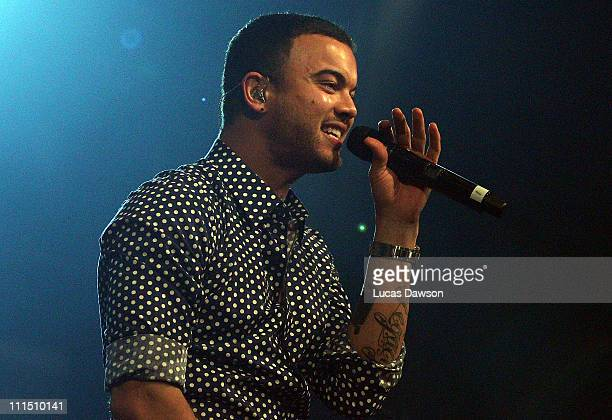 Guy Sebastian performs at the 2011 NBL/WNBL Awards Night at Crown Palladium on April 4, 2011 in Melbourne,Australia.