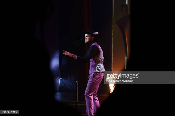 Guy Sebastian performs during the 7th AACTA Awards Presented by Foxtel at The Star on December 6 2017 in Sydney Australia