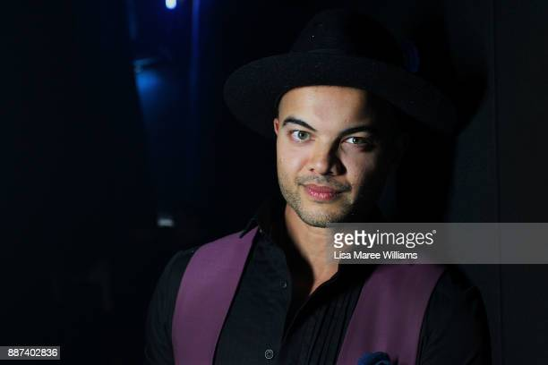 Guy Sebastian poses backstage during the 7th AACTA Awards Presented by Foxtel at The Star on December 6 2017 in Sydney Australia