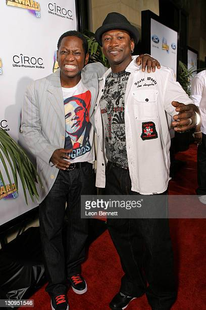 Guy Torry and Joe Torry arrive at the Offical 2008 BET AWARDS After Party on June 24 2008 in Hollywood California