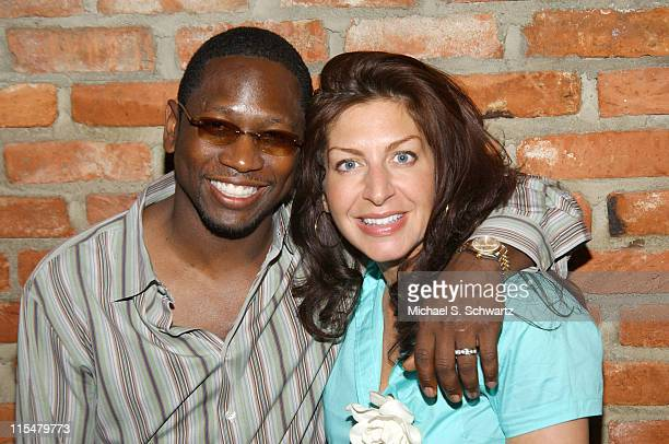 Guy Torry and Tammy Pescatelli during Comedian Tammy Pescatelli Of 'Last Comic Standing' Performs At The Ice House at The Ice House in Pasadena...