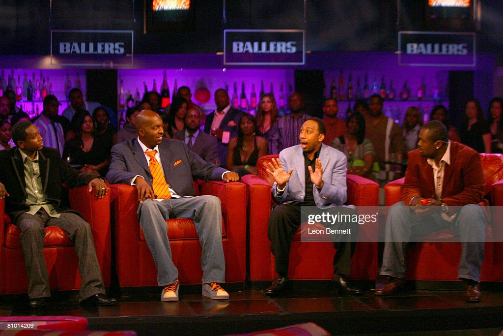 Guy Torry, John Salley, Stephen A. Smith and Hugh Douglas