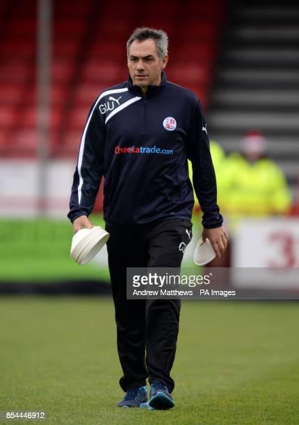 Guy Whittingham Crawley Town Firstteam coach