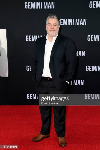 Guy Williams attends Paramount Pictures' premiere of Gemini Man on October 06 2019 in Hollywood California