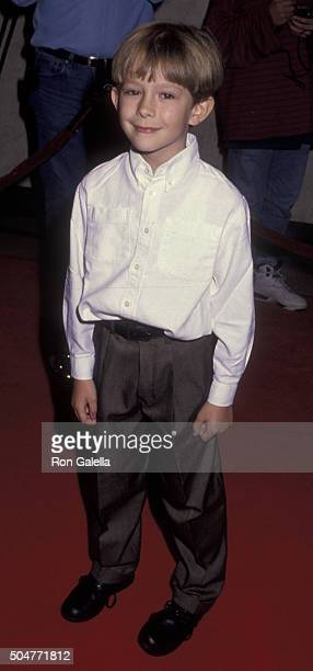 Guy Witcher attends the premiere of The Power Of One on March 24 1992 at Mann Bruin Theater in Westwood California