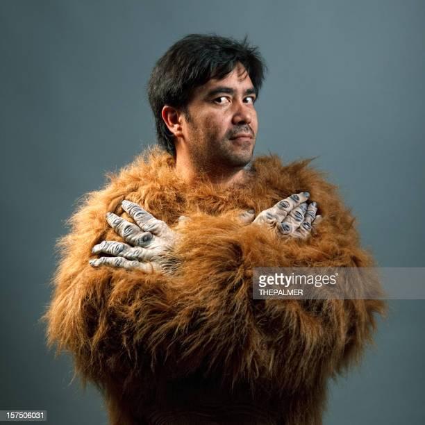 guy mit gorilla individuell angefertigte