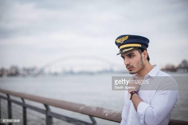 Kerl mit Seemann Hut
