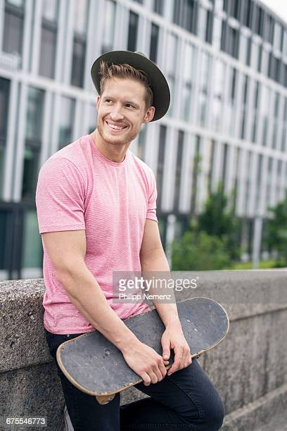 guy with skateboard