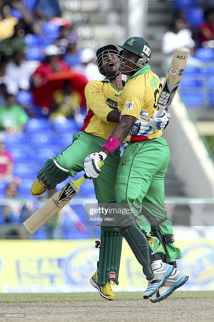 Guyana Amazon Warriors v St. Lucia Zouks - CPL 2014