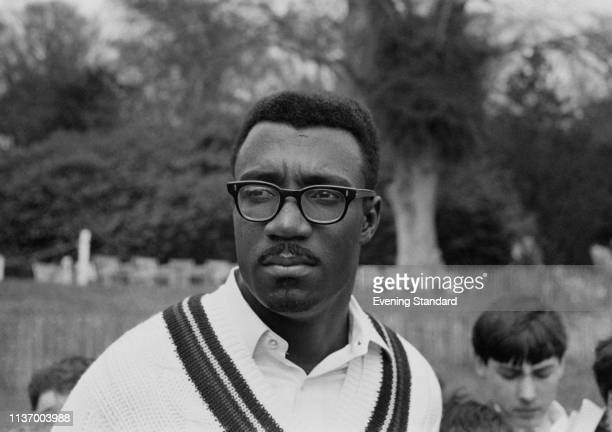 Guyanese cricket player Clive Lloyd of the West Indies cricket team, UK, 3rd May 1969.