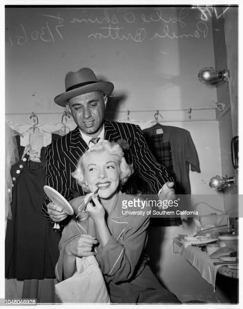Guys and Dolls' 30 July 1951 Dave StarrAlice CliftJewell DiehlDr and Mrs Ernest FishbaughJosephine WaynePG WinnettMr and Mrs Jim PriceT Carl...