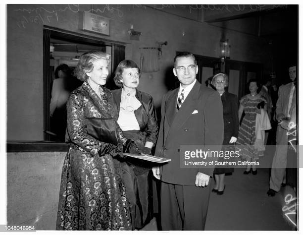 Guys and Dolls' 30 July 1951 Dave StarrAlice CliftJewell DiehlDr and Mrs Ernest FishbaughJosephine WaynePG WinnettMr and Mrs Jim PriceT Carl...