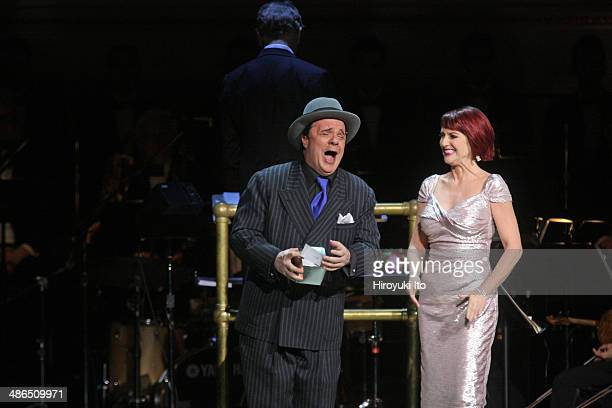 Guys and Dolls at Carnegie Hall on Thursday night April 3 2014This imageNathan Lane and Megan Mullally