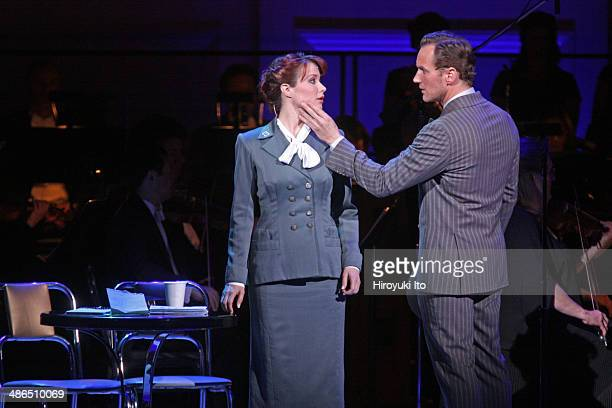 Guys and Dolls at Carnegie Hall on Thursday night April 3 2014This imageSierra Boggess and Patrick Wilson