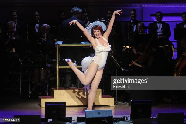 Guys and Dolls at Carnegie Hall on Thursday night April 3 2014This imageMegan Mullally