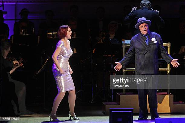 Guys and Dolls at Carnegie Hall on Thursday night April 3 2014This imageMegan Mullally and Nathan Lane