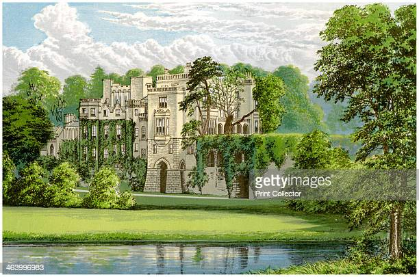 Guy's Cliffe Warwickshire home of the Percy family c1880 The house built on the site of a priory closed by the Dissolution of the Monasteries dates...